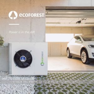 ecoforest ecoair monobloc heat pump
