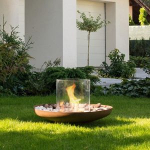 Tondo Outdoor Ethanol Fireplace