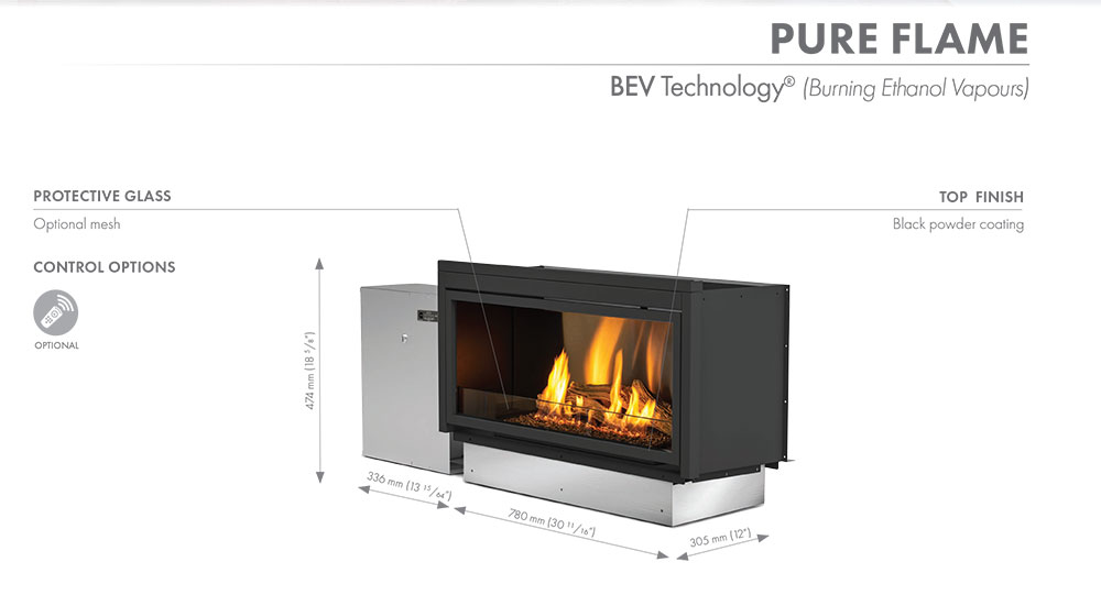 Pure-Flame-Technical-Data